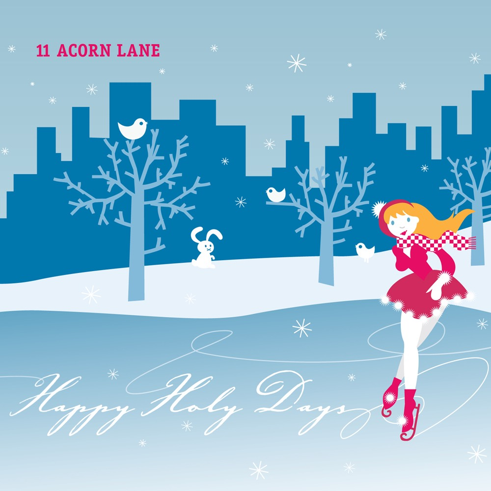 Happy Holy Days by 11 Acorn Lane