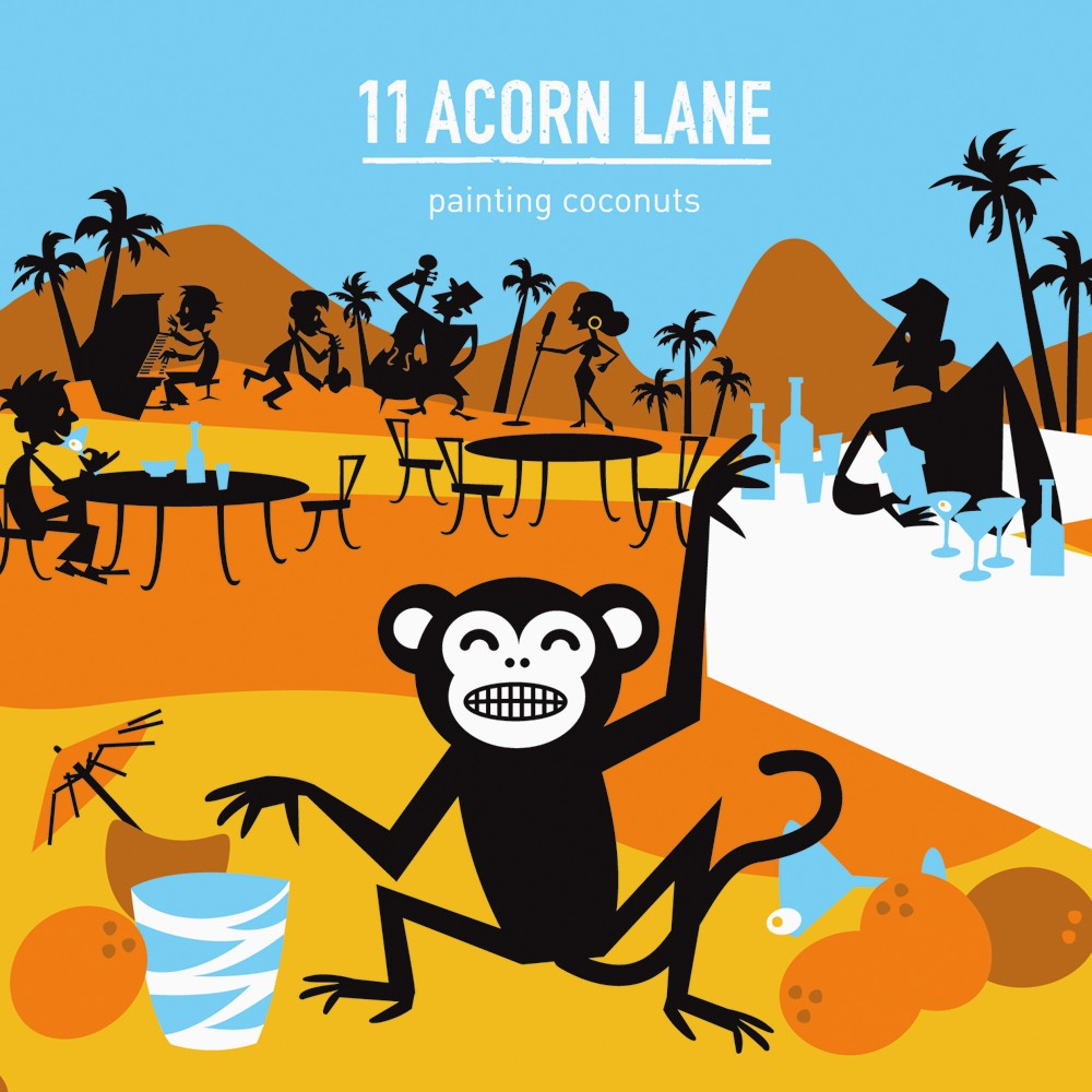 Painting Coconuts by 11 Acorn Lane