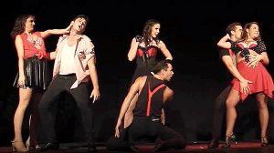 "Natasha Crane Choreographs ""Ladies Night"""